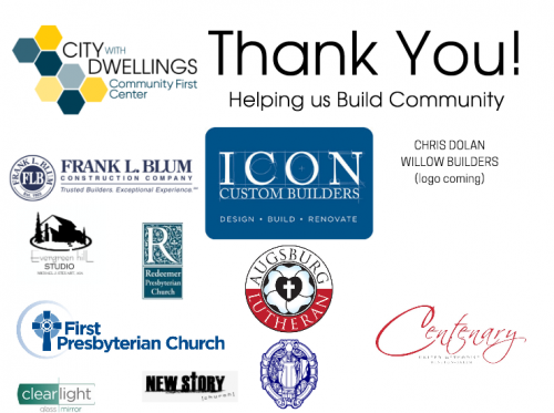 Thank you! Helping us build community.